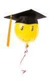 Balloon and Black Mortarboard royalty free stock photos