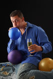 Balloon Blower Stock Photography