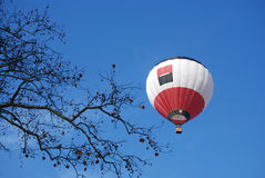 Balloon in the blue sky Stock Photography