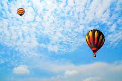 Balloon with blue sky Stock Photography