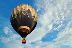 Balloon with blue sky Stock Image