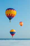 The balloon on the blue sky background Stock Photo