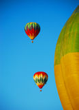 Balloon in the blue sky. Royalty Free Stock Image
