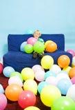 Balloon boy Royalty Free Stock Image