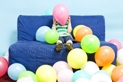 Balloon boy Stock Photos