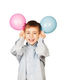 Balloon boy Stock Images