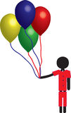 Balloon boy Royalty Free Stock Photography