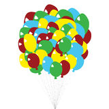 Balloon Bunch Royalty Free Stock Image