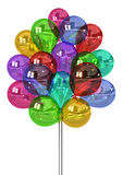 Balloon Bunch Royalty Free Stock Images