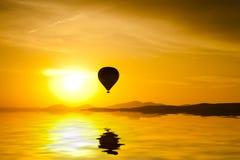 Balloon in Cappadocia Royalty Free Stock Photos