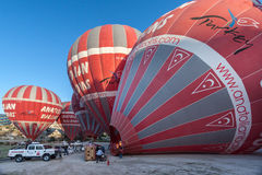 Balloon in Cappadocia Royalty Free Stock Photos