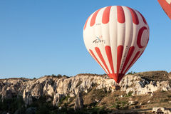 Balloon in Cappadocia Turkey Royalty Free Stock Images