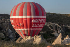 Balloon in Cappadocia Turkey Stock Photography