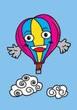 Balloon cartoon Stock Images