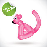 Balloon Cat Illustration Stock Photos