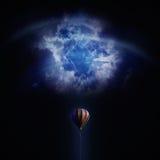 Balloon challenge stock images