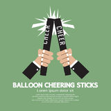 Balloon Cheering Sticks Royalty Free Stock Image