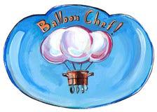 Balloon chef Royalty Free Stock Photo
