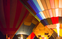 Balloon at chiangrai Royalty Free Stock Images