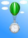 Balloon clock Stock Photo