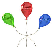 Balloon Colors Knot Stock Image