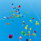 Balloon competition Stock Images