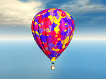 Balloon. Computer generated 3D illustration with a balloon Royalty Free Stock Images