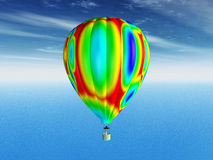 Balloon. Computer generated 3D illustration with a balloon Royalty Free Stock Image