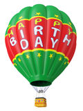 Balloon a congratulation happy birthday Stock Image