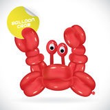 Balloon Crab Illustration Royalty Free Stock Photos