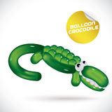Balloon Crocodile Illustration Stock Photography