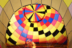 Balloon colorful. Before the balloon will rise Stock Photo