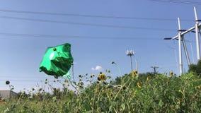 Balloon Dances Alone stock video footage
