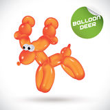 Balloon Deer Illustration Royalty Free Stock Image