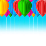 Balloon design Royalty Free Stock Images