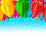 Balloon design Stock Photography