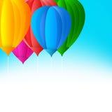 Balloon design Royalty Free Stock Photos