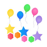 Balloon design Royalty Free Stock Photography