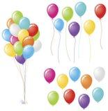 Balloon Design Set Bundle Stock Photo