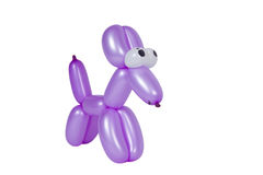Balloon Dog With eyes. Classic Balloon Dog with eyes Isolated on white Stock Images