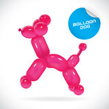 Balloon Dog Illustration Stock Photography