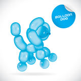 Balloon Dog Illustration Royalty Free Stock Photos