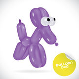 Balloon Dog Illustration Royalty Free Stock Photography
