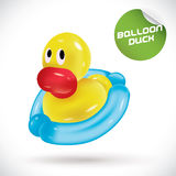 Balloon Duck Illustration Stock Photos