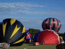 Balloon Festival 1296. Hot air balloon festival in plano texas Stock Photos