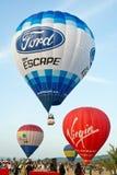 Balloon Festival. Royalty Free Stock Photos