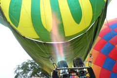 Balloon festival. The compressed gas in a balloon ,balloon festival Royalty Free Stock Image