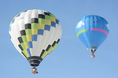 Balloon Festival Chateau DOex 2014 Royalty Free Stock Photography