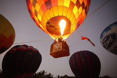 Balloon festival in Chiangmai Royalty Free Stock Photography