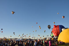 Balloon Fiesta in Albuquerque 2016 Royalty Free Stock Photography